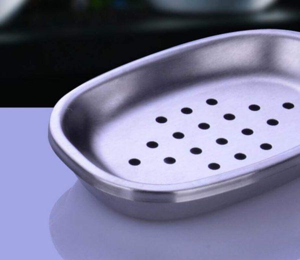 Juego de baño 4 piezas METAL acero inoxidable ecológico, sostenible, comprar sin plástico, sin plástico, baño metálico