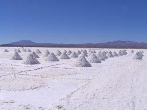 sal salt blanca white montones en explanada Sostenibilidad