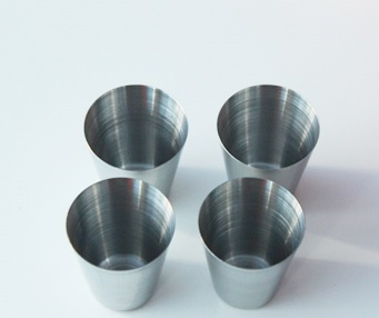 4 VASOS METAL 4 ACERO INOXIDABLE 4 ECOLÓGICO SOSTENIBLE