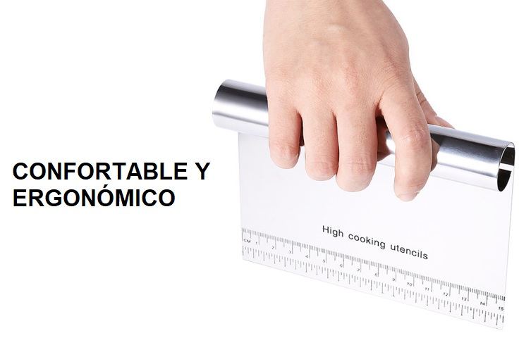 ESPÁTULA METAL COCINA CONFORTABLE Y ERGONOMICO ACERO ECOLÓGICO SOSTENIBLE