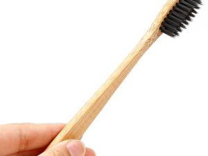 Cepillo Dientes BAMBÚ Ecológico cepillo dientes bamboo cerdas negras ecologico sostenible