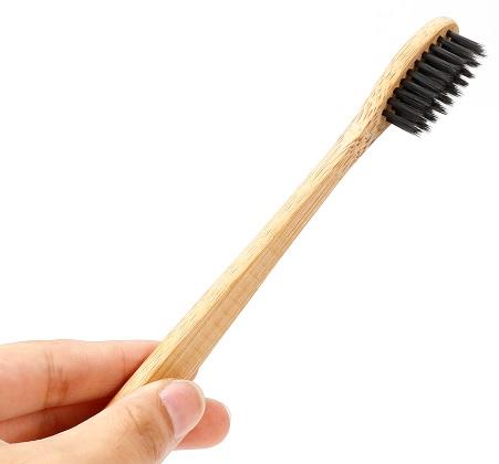 Cepillo Dientes BAMBÚ Ecológico cepillo dientes bamboo cerdas negras  ecologico sostenible 3ba65b379f21