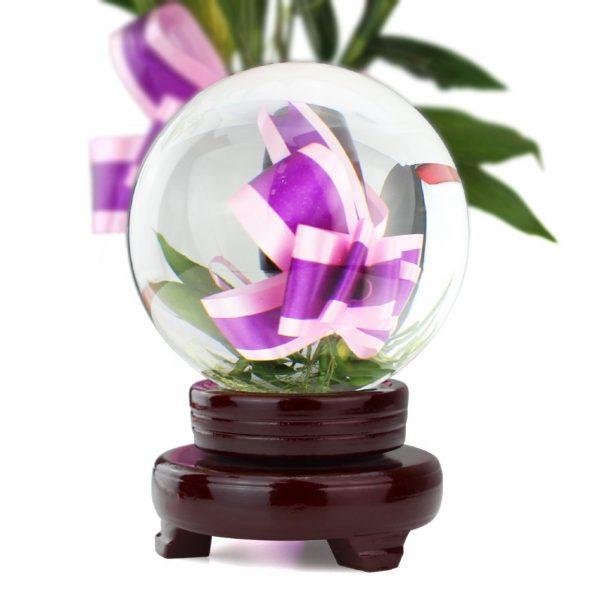 Bola de Cristal 100mm ecológico sin plástico sinplastico sostenible antiplastico