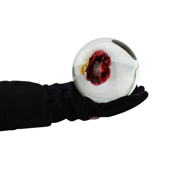 Bola de Cristal 100mm mano ecológico sin plástico sinplastico sostenible antiplastico