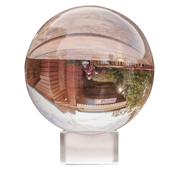 Bola de Cristal 8cm ecológico sin plástico sinplastico sostenible antiplastico