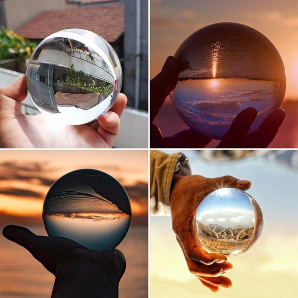 Bola de Cristal 10cm mano ecológico sin plástico sinplastico sostenible antiplastico