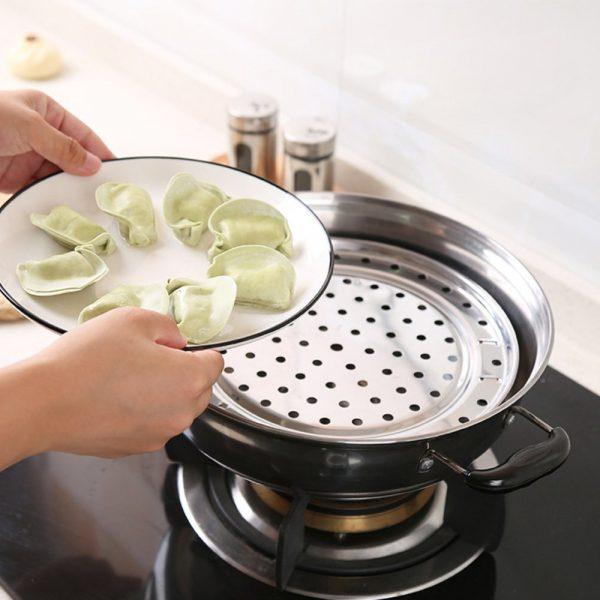 Bandeja-METAL-Cocina-al-vapor-cocinar artesanía comprar sin plástico sostenible ecológico