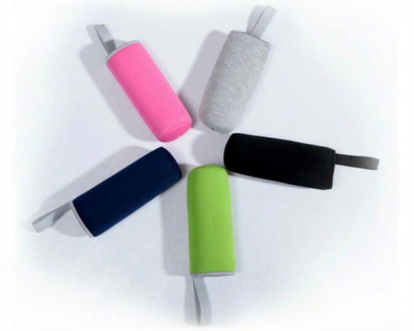 Botella-CRISTAL-y-ACERO-Portátil-Colores-5-fundas comprar sin plástico