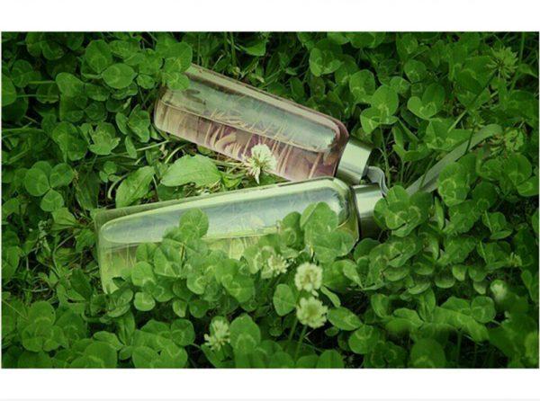 Botella-CRISTAL-y-ACERO-Portátil-Colores-transparente-ltc comprar sin plástico