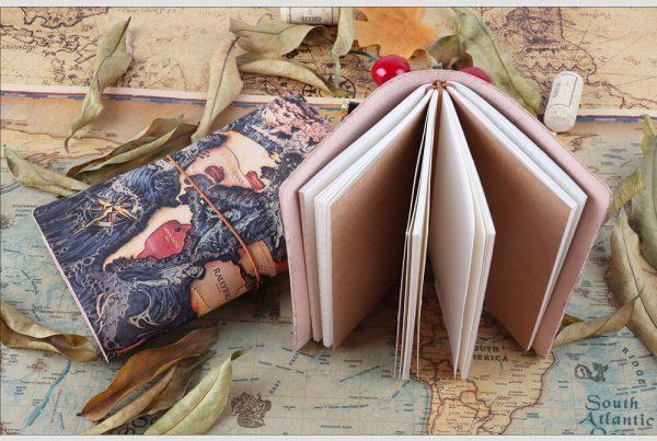 Cuaderno-Viajero-CUERO-Genuino-ATLAS-hojas comprar sin plástico ComprarSinPlastico.com