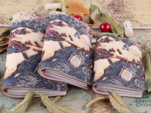 Cuaderno-Viajero-CUERO-Genuino-ATLAS-natural-color comprar sin plástico ComprarSinPlastico.com