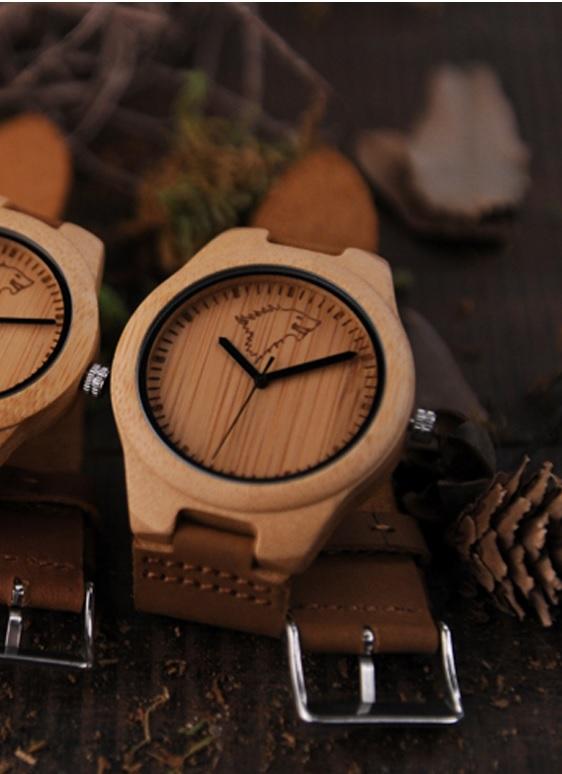 Reloj-BAMBÚ-y-CUERO-Lobo-unidad comprar sin plástico moda elegante btc