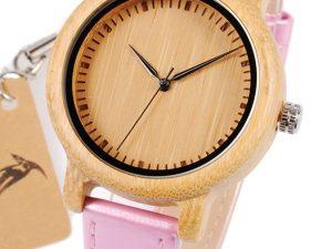 Reloj-BAMBÚ-y-CUERO-Rosa.jpg comprar sin plástico moda elegante btc