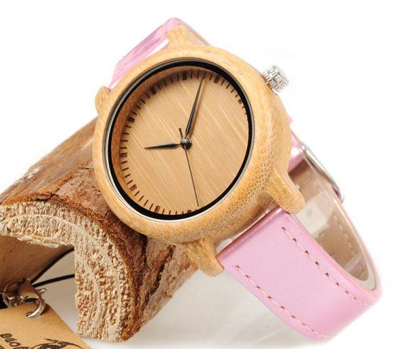 Reloj-BAMBÚ-y-CUERO-Rosa-bonito.jpg comprar sin plástico moda elegante btc