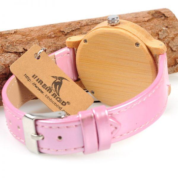 Reloj-BAMBÚ-y-CUERO-Rosa-detrás.jpg comprar sin plástico moda elegante btc