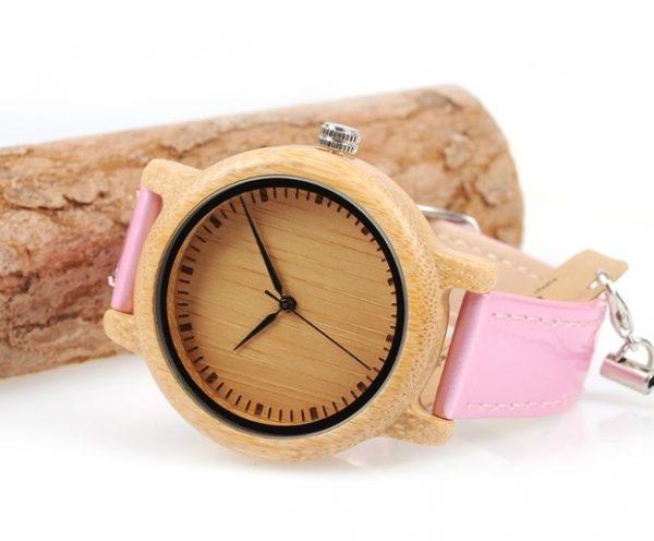 Reloj-BAMBÚ-y-CUERO-Rosa-ejemplo.jpg comprar sin plástico moda elegante btc