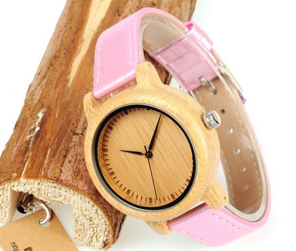 Reloj-BAMBÚ-y-CUERO-Rosa-madera.jpg comprar sin plástico moda elegante btc