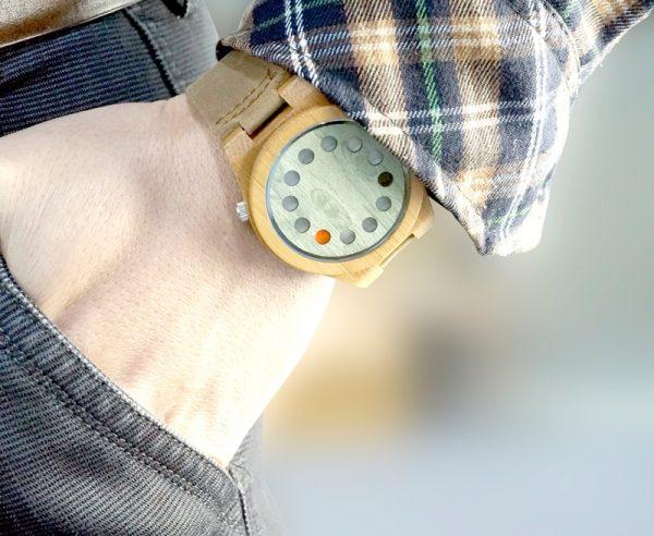 Reloj-BAMBÚ-y-CUERO-original-bolsillo comprar sin plástico moda elegante btc