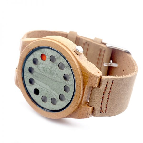 Reloj-BAMBÚ-y-CUERO-original-modelo-btc comprar sin plástico moda elegante
