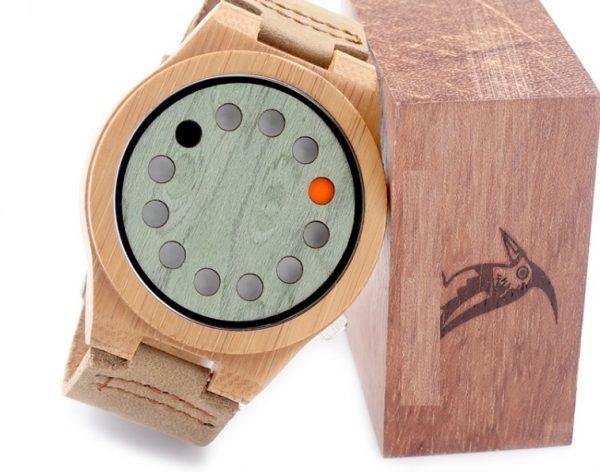 Reloj-BAMBÚ-y-CUERO-original-piel comprar sin plástico moda elegante btc
