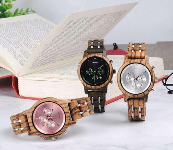 Reloj MADERA de Diseño Actual, materiales nobles, el tiempo en tu mano, tiempo exacto, tres modelos