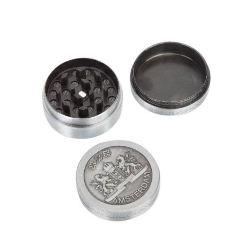 Grinder Aluminio triturador 3 alturas 3 partes escudo accesorios
