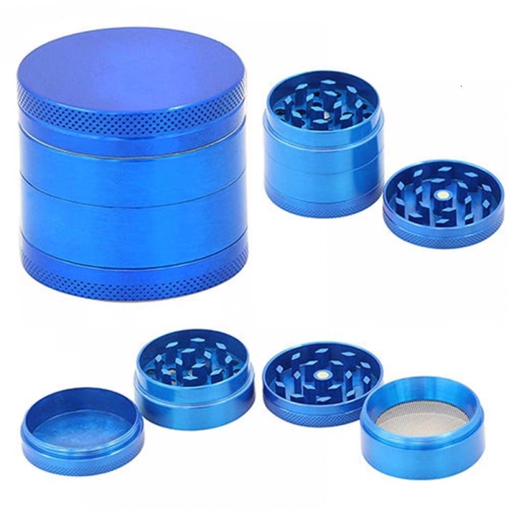 Grinder Aluminio triturador 4 alturas 4 colores rejilla color azul donde comprar con litecoin