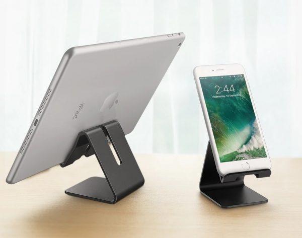 Soporte METAL para Móvil y Tablet sujeta telefono y tablet