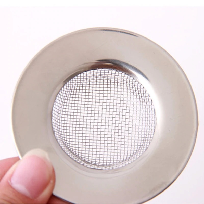 Tapa Colador METAL fregadero redonda zoom aceptamos pago con bitcoin comprar sin plástico