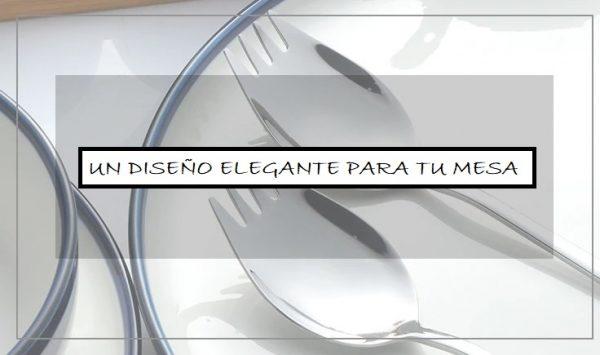 Tenedor Cuchara Metal para Paella diseño