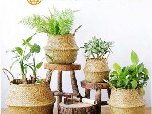 Bolso Tejido Fibras Naturales, ecológico, sostenible, natural, único y respeta el medio ambiente sin excepción