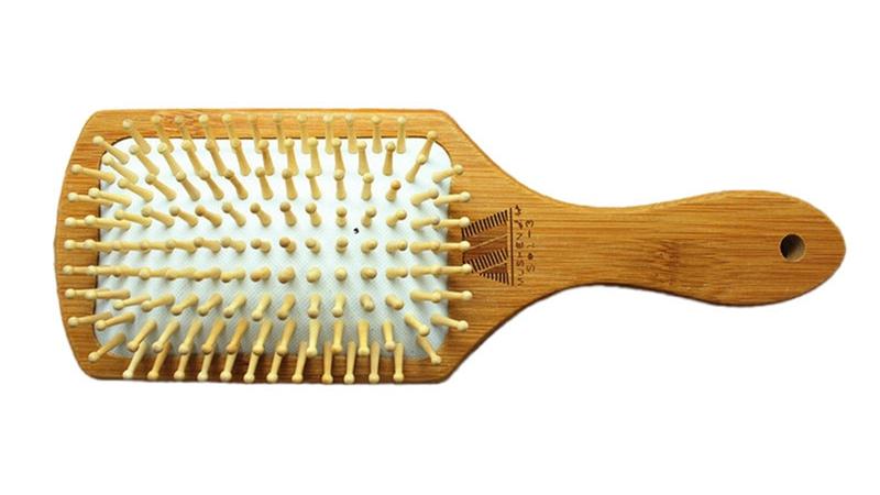 Cepillo de ventilación BAMBÚ para el cabello comprarsinplastico madera sostenible CSP