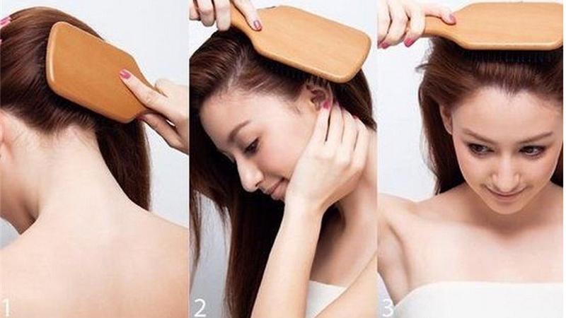 Cepillo de ventilación BAMBÚ para el cabello comprarsinplastico madera sostenible