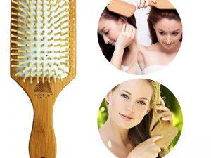 Cepillo de ventilación BAMBÚ para el cabello comprar sin plástico natural