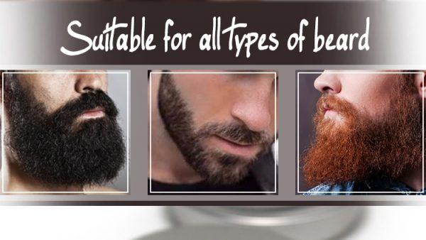 Acondicionador para barbas y bigotes ecológico diferentes barbas