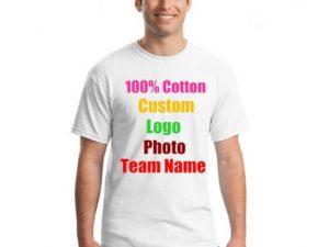 Camiseta ALGODÓN personalizable, material ecológico y sostenible. Tela de Algodón DIY muy llamativa
