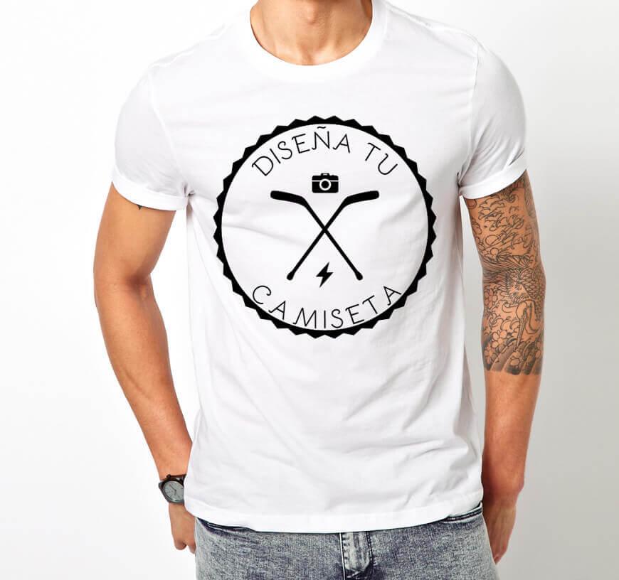 Camiseta ALGODÓN personalizable, material ecológico y sostenible. Tela de Algodón DIY para adultos, muchas tallas