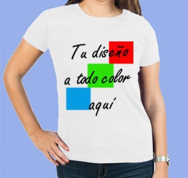 Camiseta ALGODÓN personalizable, material ecológico y sostenible. Tela de Algodón DIY para niñas