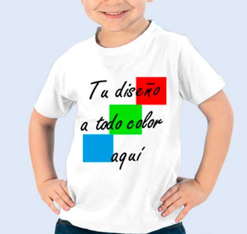 Camiseta ALGODÓN personalizable, material ecológico y sostenible. Tela de Algodón DIY unisex niños y adultos