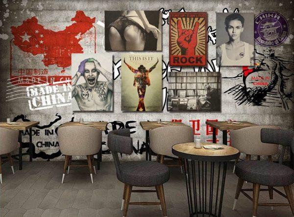 Láminas PAPEL Kraft Poster Varios diseños sugerencia presentacion bar