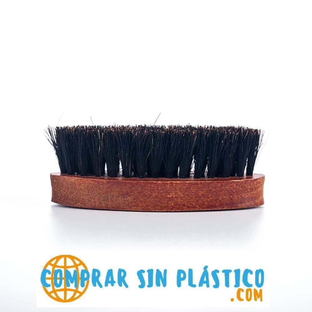 Cepillo JABALÍ para Barba y Bigote, materia prima natural y sostenible biodegradable, fashion