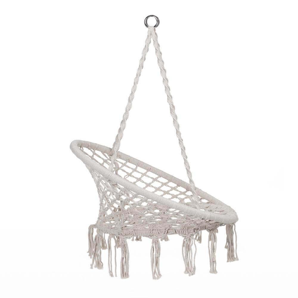 Hamaca Redonda Interior Exterior sostenible ecológica silla colgante