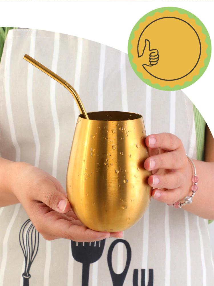 Vaso de colores acero inoxidable 10