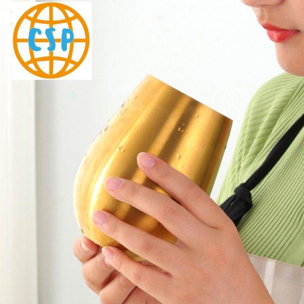 Vaso de colores acero inoxidable ecológica colores 8