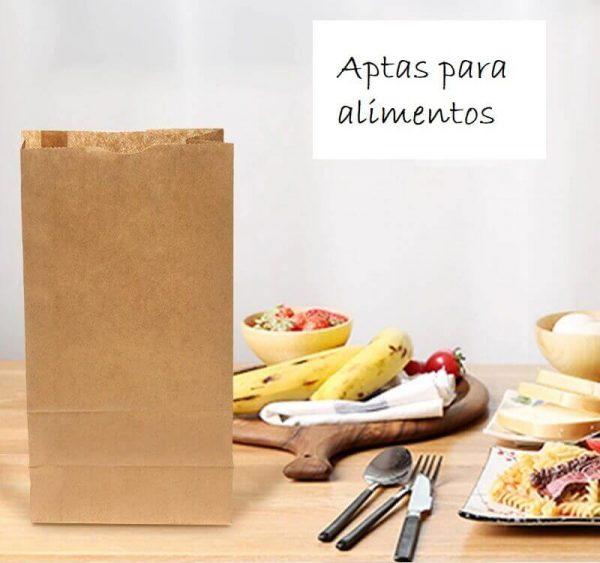 Bolsas PAPEL Kraft 10uds de calidad y económica