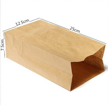 Bolsas PAPEL Kraft 10uds informacion del producto centímetros que mide la bolsa