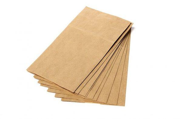 Bolsas PAPEL Kraft 10uds paquete para envolver objetos y cosas