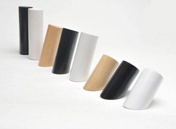 Percha Madera de Diseño ecológico, original, útil, para la ropa en casa, comprar sin plástico, tres colores