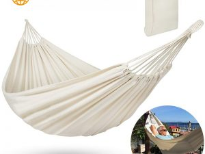 Hamaca Camping ALGODON Viaje fibra textil ecológica sostenible natural sostenible relax