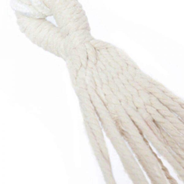 Hamaca Colgante Multicolor ALGODÓN lona ecológica sostenible y natural sin plástico, para colgar una hamaca